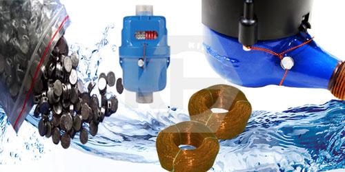 Hạt chì niêm phong đồng hồ nước tiêu chuẩn