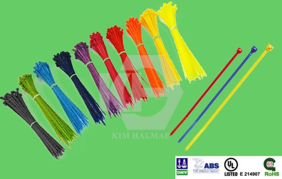 dây rút nhựa màu, dây thít nhựa màu