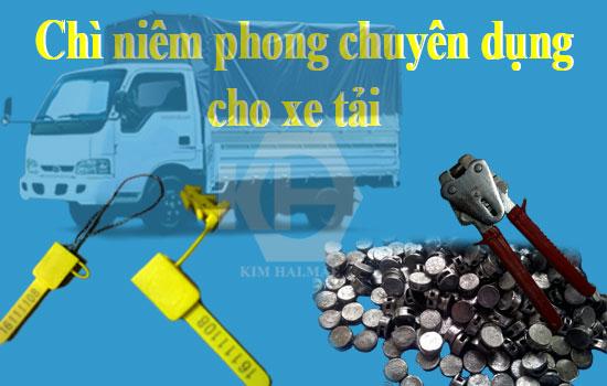 niêm phong xe tải hiệu quả trong niêm phong