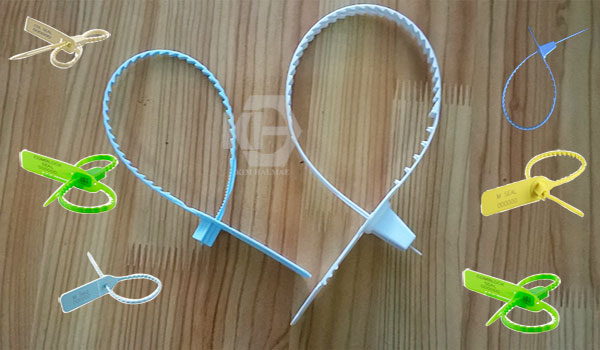 khóa nhựa niêm phong răng cưa dễ dàng sử dụng