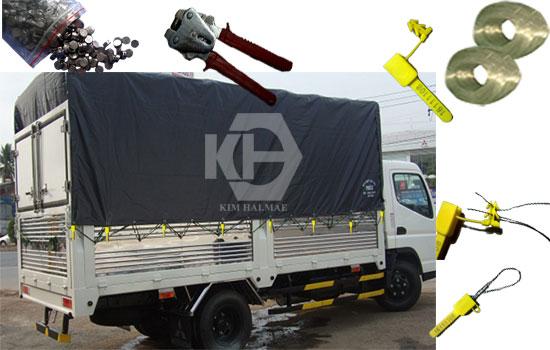 kẹp chì niêm phong xe tải